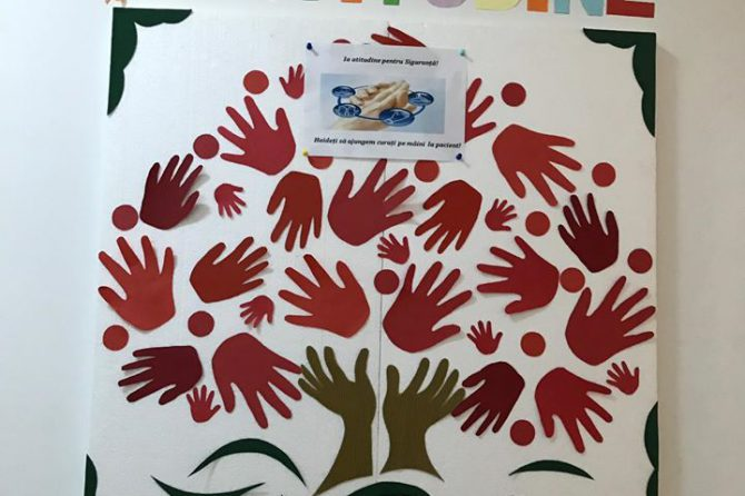 5 Mai – Ziua Mondială a Igienei Mâinilor